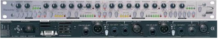 Signal Processor Focusrite Platinum 3 Compounder